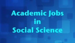 Academic Jobs in Social Science