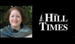 Natasha Tusikov writes op-ed for The Hill Times