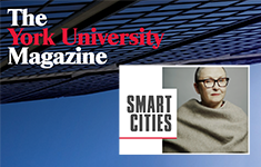 York University Magazine profiles Urban Studies professor Linda Peake re Smart Cities
