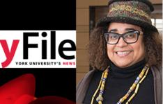 Yfile article on Prof. Caroline Shenaz Hossein